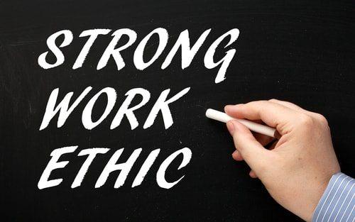 Requiring people to work for welfare instills good work ethic skills.