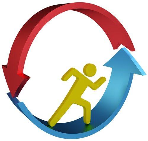 Workfare breaks the dependency cycle