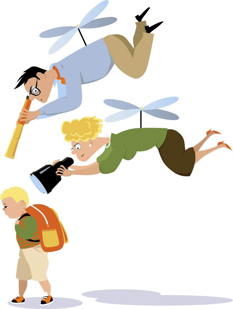 Being a helicopter parent harms your child. Being a Tiger Mom prepares them for life!