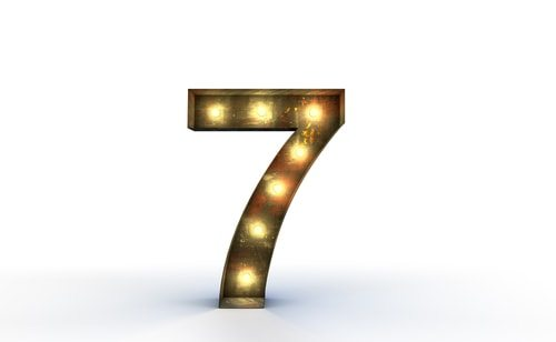 Lucky number 7? Nope just 7 times the tax rate.