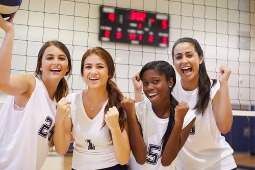 Sorry girls no more volleyball if students get paid to play.