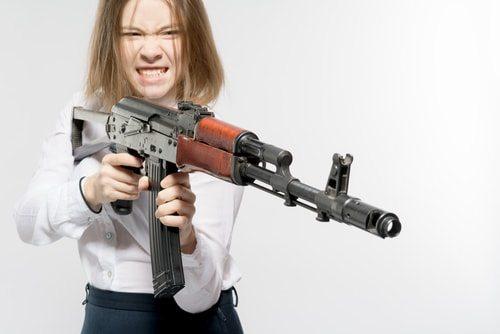 Violent video games train killers