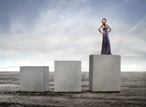 Woman fairly or unfairly are put on a pedestal!
