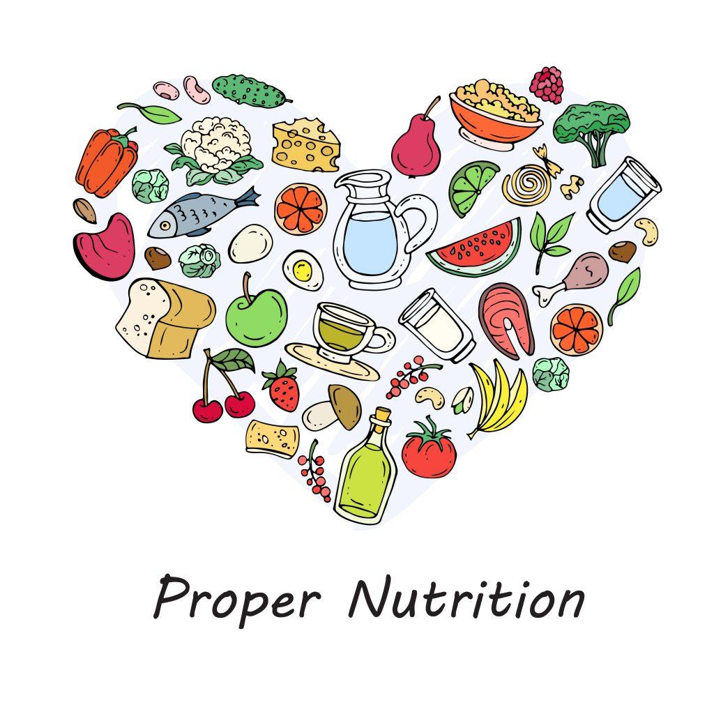 proper nutrition.