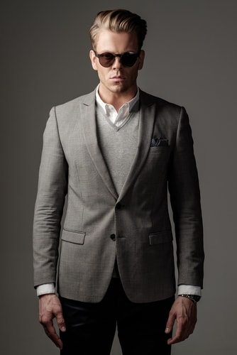If he is a sharp dressed man all of a sudden. He's probably cheating on you.