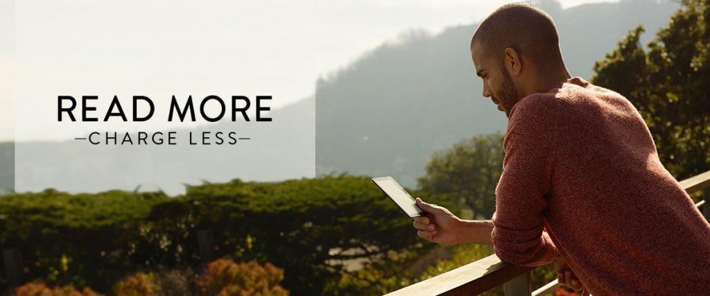 The Kindle Oasis Reads like a book.