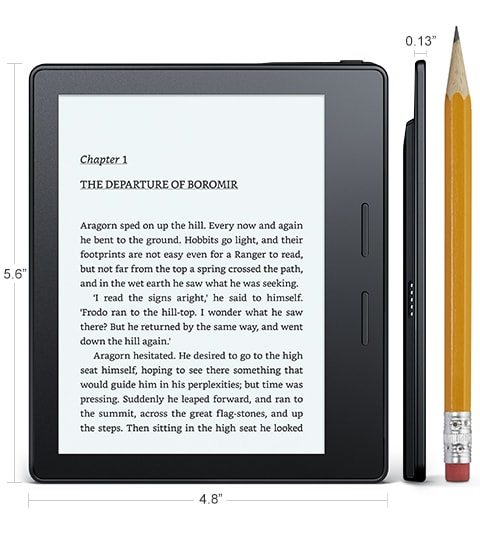 Amazon's Kindle Oasis In-Depth Review: The Top 10 Facts!