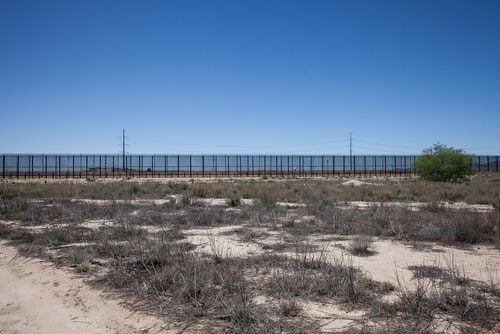 America needs stronger border control because it's geography makes us vulnerable.