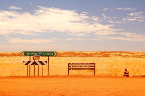 The outback. Where most Australians never venture.