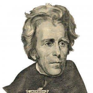 Andrew Jackson Listland.com