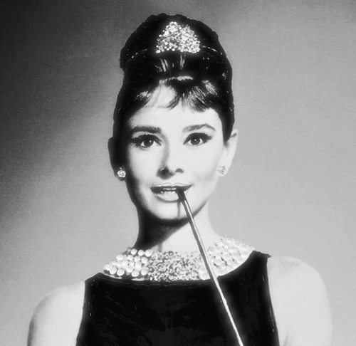 Audrey Hepburn one of the world's most beautiful women.