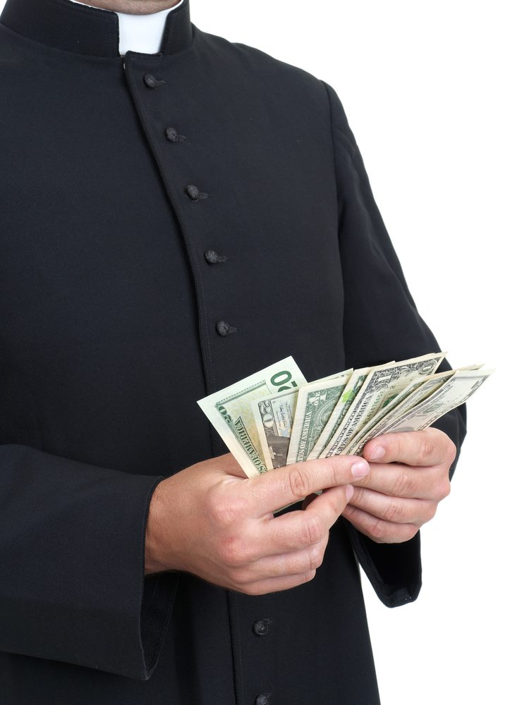 Churches make that money! $$$
