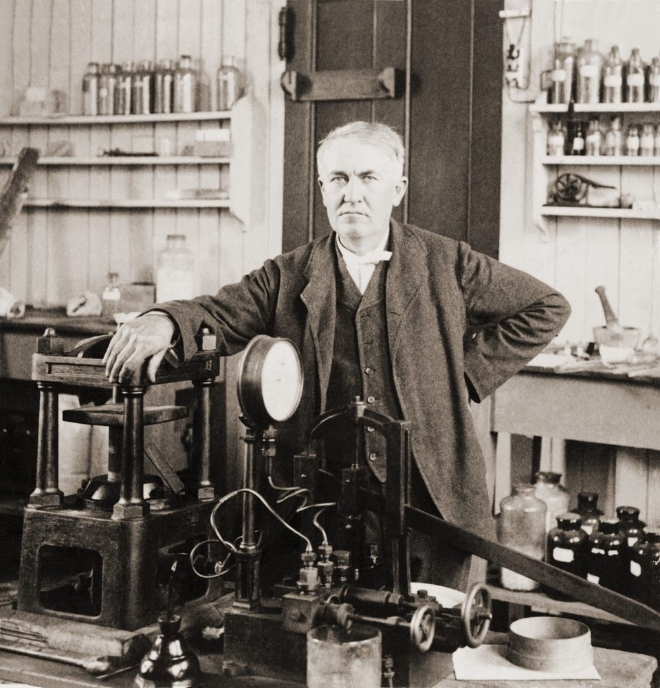 Nikola Tesla idolized Thomas Edison.  Edison later betrayed him.