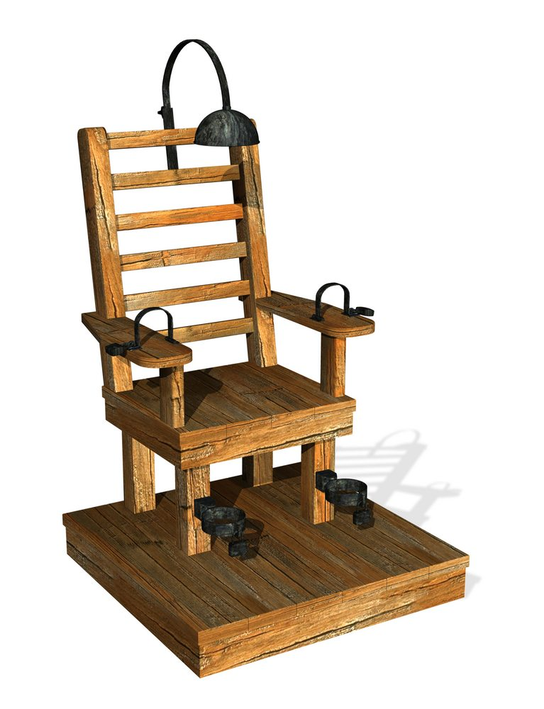 Tesla and Edison's feud led to the creation of the electric chair