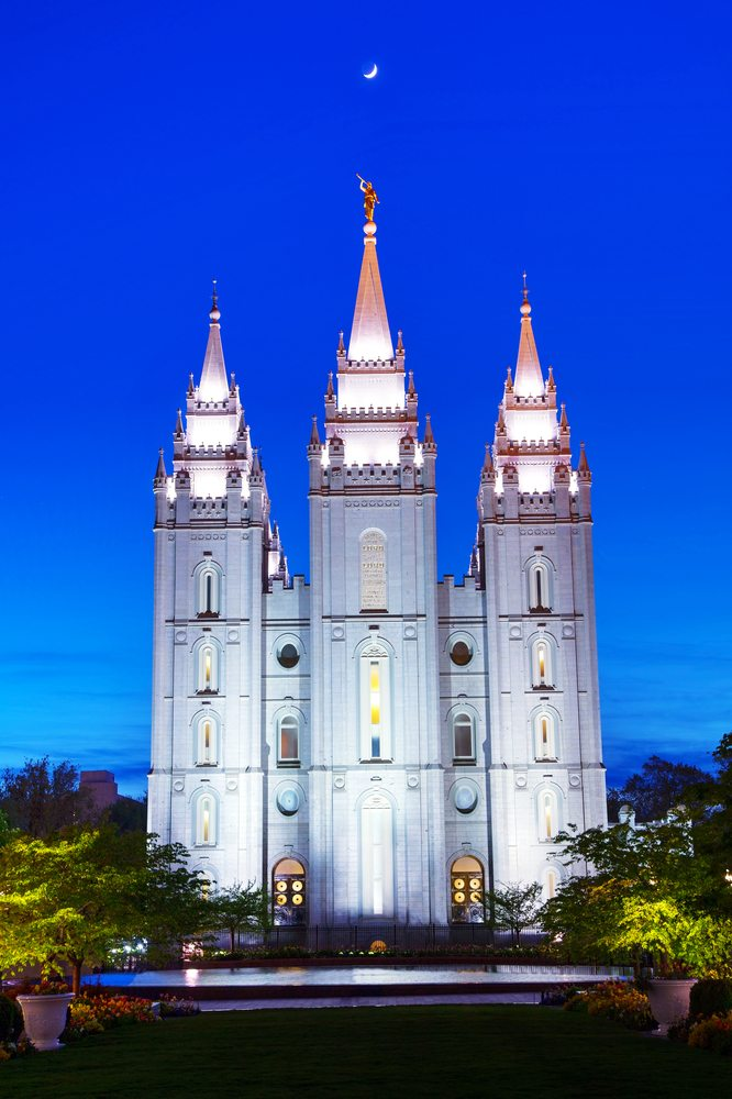 The Top 10 Wacky Things You Should About Mormonism. The Salt Lake City Mormon Temple in Salt Lake City, Utah