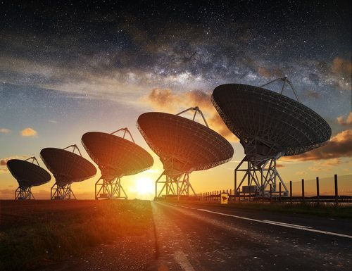 Despite looking real hard with our radio telescopes, we have yet to find any aliens.