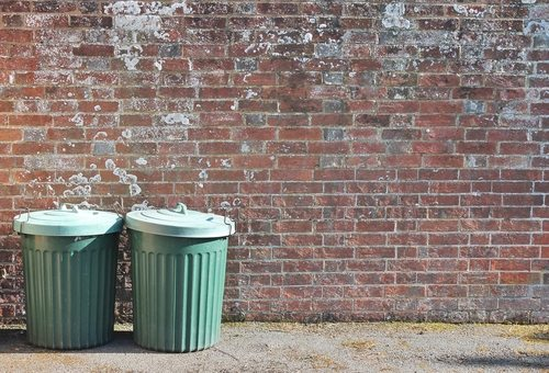 Fermi's Paradox arose out of the theft of some trash cans