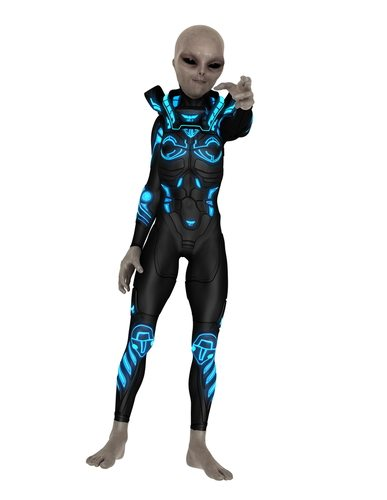 Some believe that Alien civilizations simply want nothing to do with us.  Like this guy, he wants nothing to do us.  He'd rather do cool alien things.