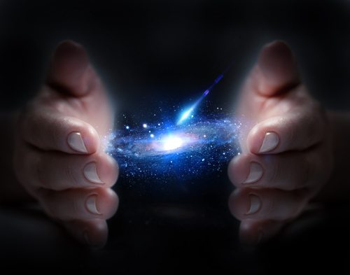 Image result for universe in hands
