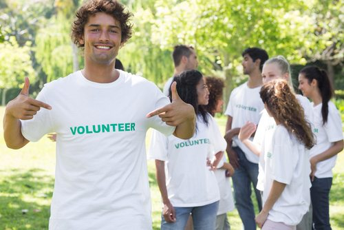 Volunteering is socially responsible and a great way to make new pals.