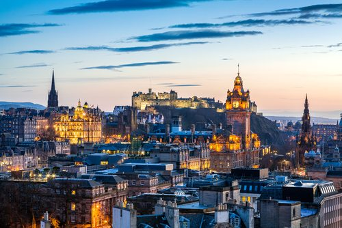 J.K. Rowling lived in Edinburgh