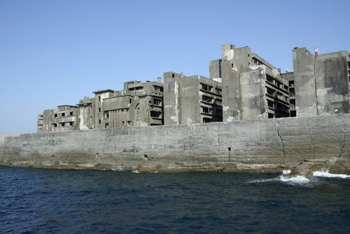 The Ghost Town of Hashima Island, Japan
