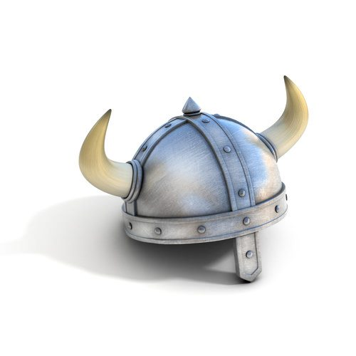 Apparently horned helmets weren't a thing.  I'm going to choose not to believe this.
