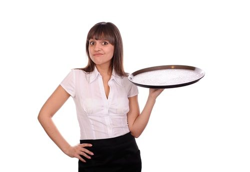 I'll be your waitress Snobb-a-rina