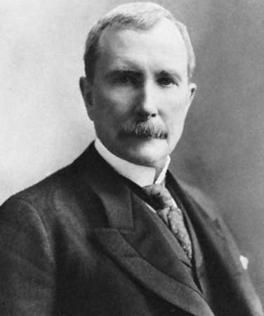 John D Rockefeller a self made, but-kicking rags to riches story
