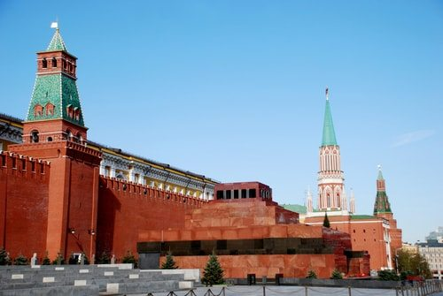 Vladimir Lenin's tomb at Red Square