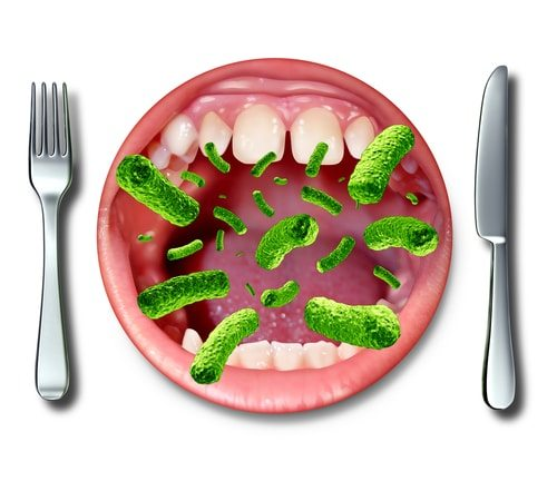 Being a vegan or vegetarian cuts down on food-borne illnesses