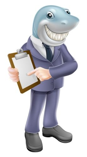 Debt Settlement Companies, Sharks in suits
