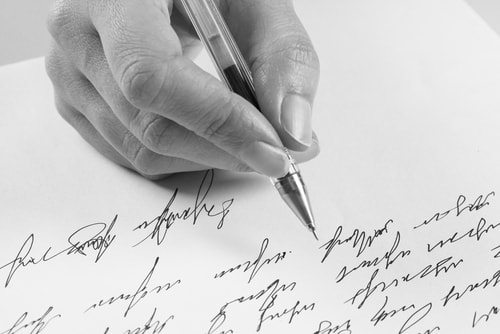 A handwritten letter in the social media age?  Good luck.