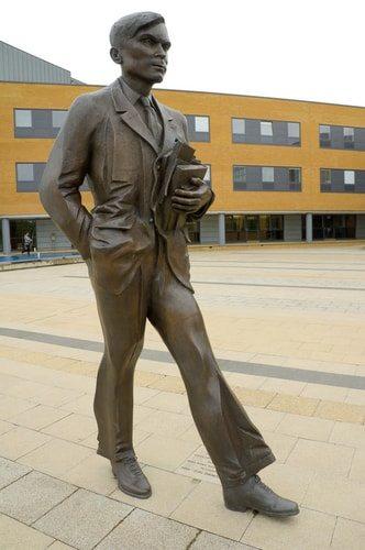 Alan Turing, genius.