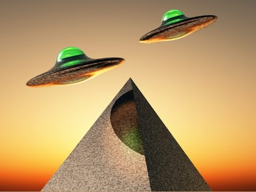 Aliens did build the pyramids. The radio signals in my fillings told me so.