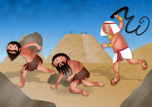 Jews weren't used as slaves to build the pyramids according to some historians and scholars.