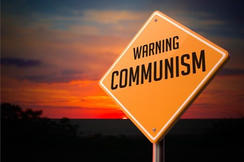 Socialism as a gateway drug to communism... Maybe