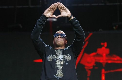 Jay-Z. Illuminati? Maybe.