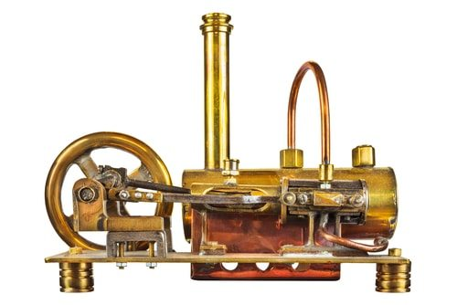 Steam Engine spurred Ag tech.