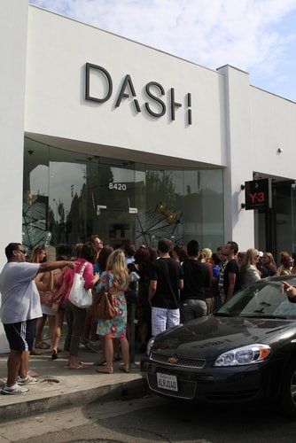 The Kardashian Dash stores appear to be raking in dough. Just like almost every Kardashian venture.