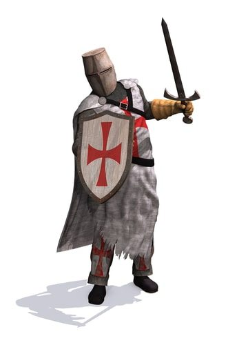 The Knights Templar. Not Illuminati