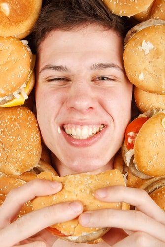 You may have a genetic disorder that causes you to be addicted to burger heaven!