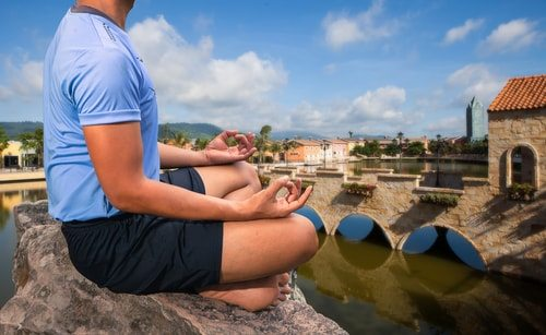 Boost testosterone naturally by reducing your stress. Try meditation.