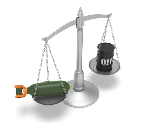 When weighing the price of oil don't forget to add in the cost of Billions of dollars of weapons for our oil wars.