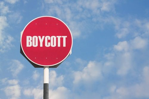 Boycotting is an effective way to communicate an important message
