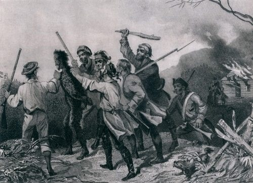 George Washington crushed the whiskey rebellion