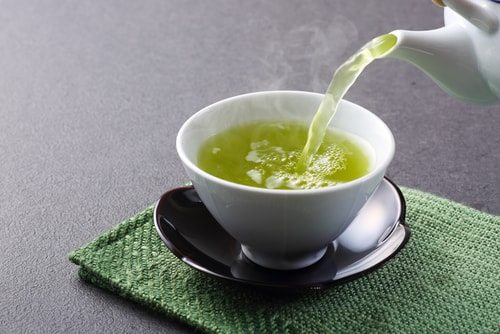 Green tea is the stuff if you want to Naturally lower your blood pressure.