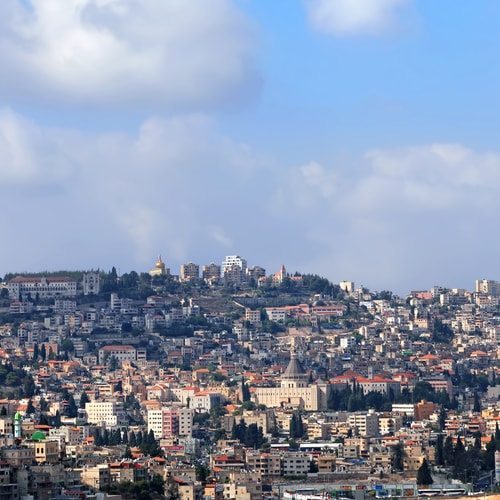 The City of Nazareth is old but Jesus old. Jesus Christ never existed.