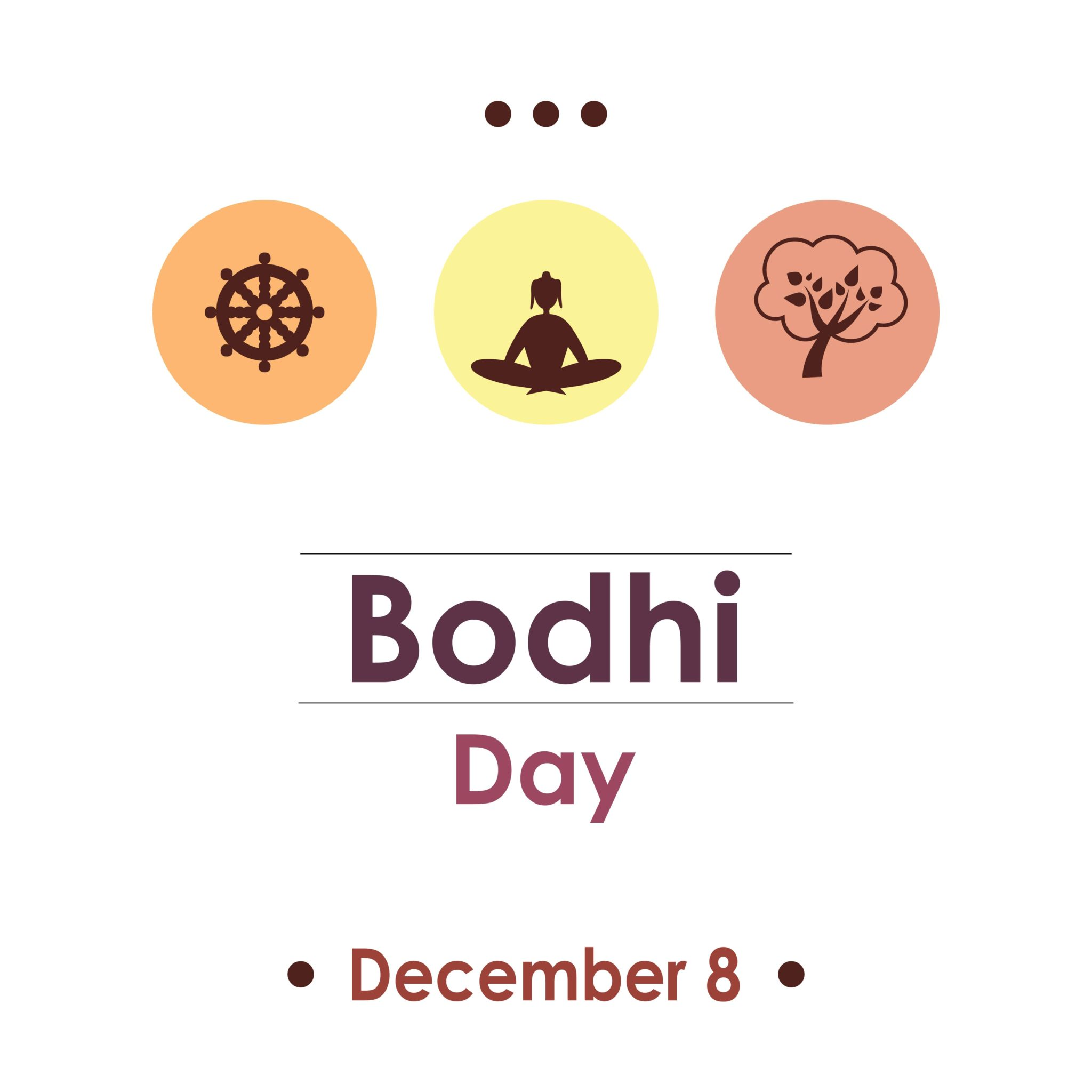 Bodhi Day a celebration of Buddha's enlightenment.