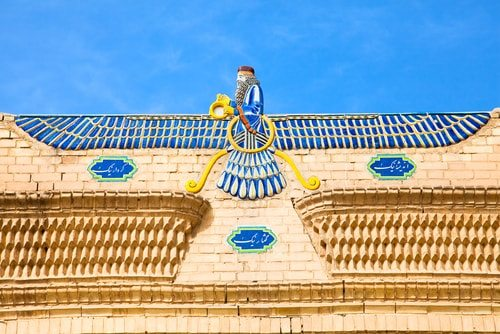 During Zartosht No-Diso Zoroastrians celebrate Zoroasters's Ahura Mazda